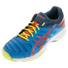 ASICS Men`s Gel-Solution Slam 3 Tennis Shoes Methyl Blue and Orange