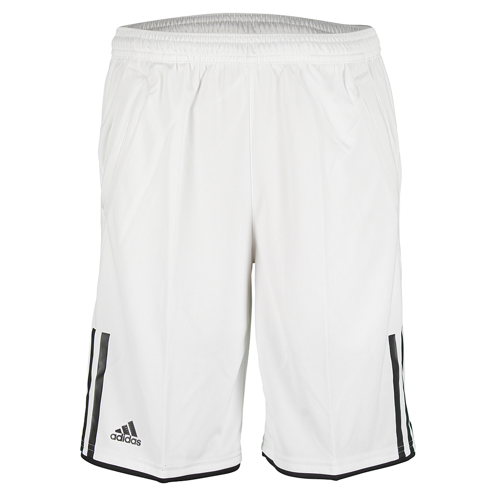 Boys ` Club Bermuda Tennis Short White And Black
