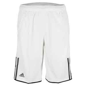 Boys` Club Bermuda Tennis Short White and Black