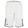ADIDAS Boys` Club Bermuda Tennis Short White and Black