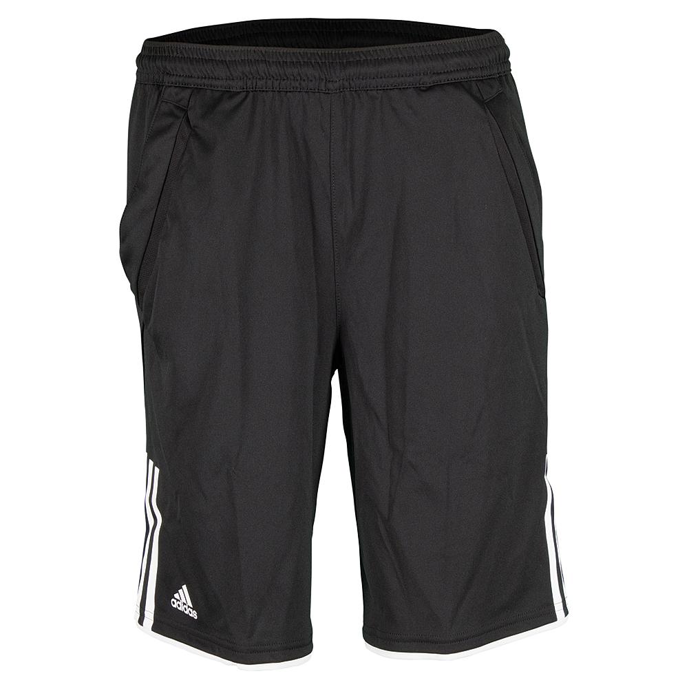 Boys ` Club Bermuda Tennis Short Black And White