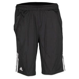 Boys` Club Bermuda Tennis Short Black and White