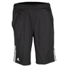 ADIDAS Boys` Club Bermuda Tennis Short Black and White