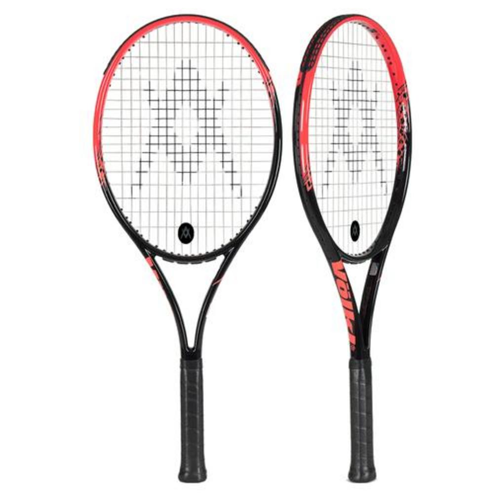 Team Speed Black And Lava Demo Tennis Racquet 4_3/8