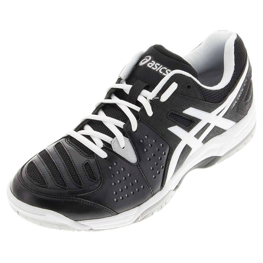 Men's Gel- Dedicate 4 Tennis Shoes Black And White