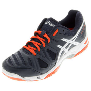 Men`s Gel-Game 5 Tennis Shoes Sky Captain and White