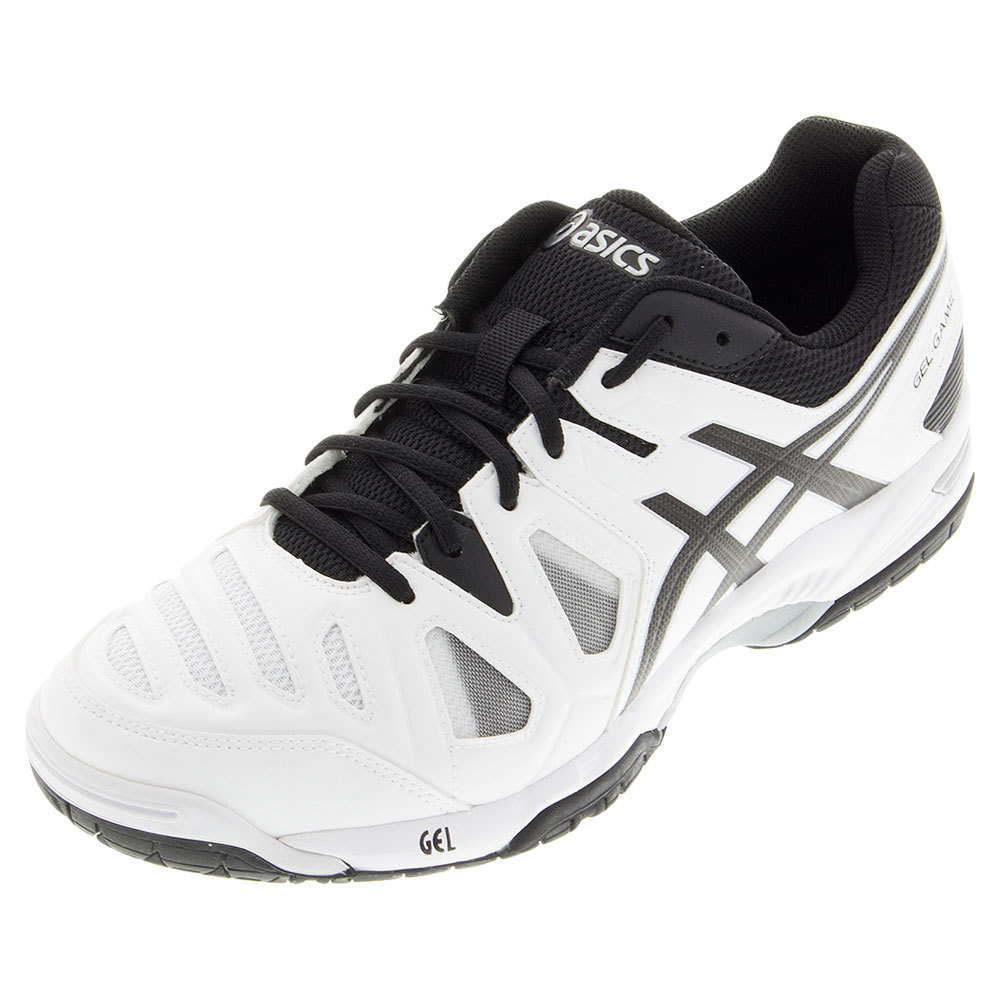Men's Gel- Game 5 Tennis Shoes White And Black