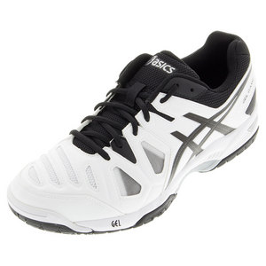 Men`s Gel-Game 5 Tennis Shoes White and Black