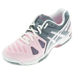 Women`s Gel-Game 5 Tennis Shoes Cotton Candy and White