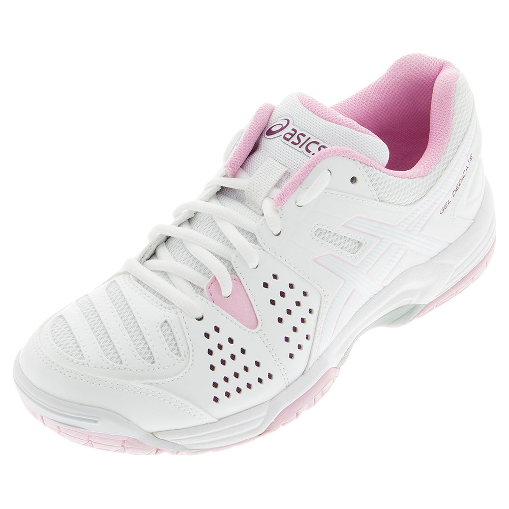 Women's Gel- Dedicate 4 Tennis Shoes White And Cotton Candy