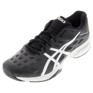 Men`s Gel-Solution Lyte 3 Tennis Shoes Black and White