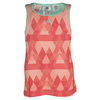 ADIDAS Girls` Club Trend Tennis Tank Sun Glow and Shock Red
