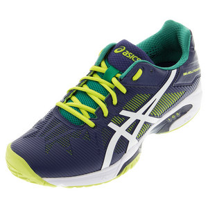 ASICS MENS GEL-SOL SPEED 3 TNS SHOES IND BL/LM