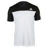 ADIDAS Men`s Club Tennis Tee White and Black