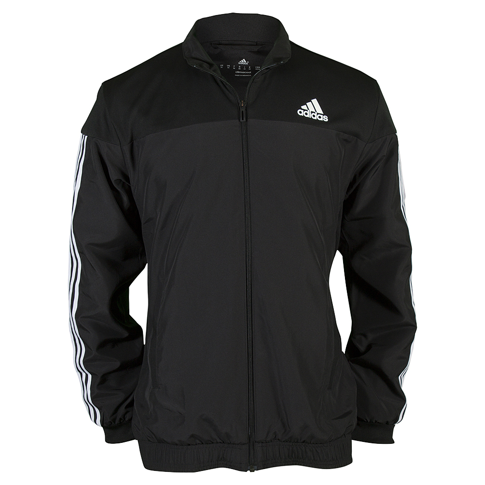 Men's Club Tennis Jacket Black
