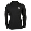 ADIDAS Men`s Essex Long Sleeve Tennis Tee Black