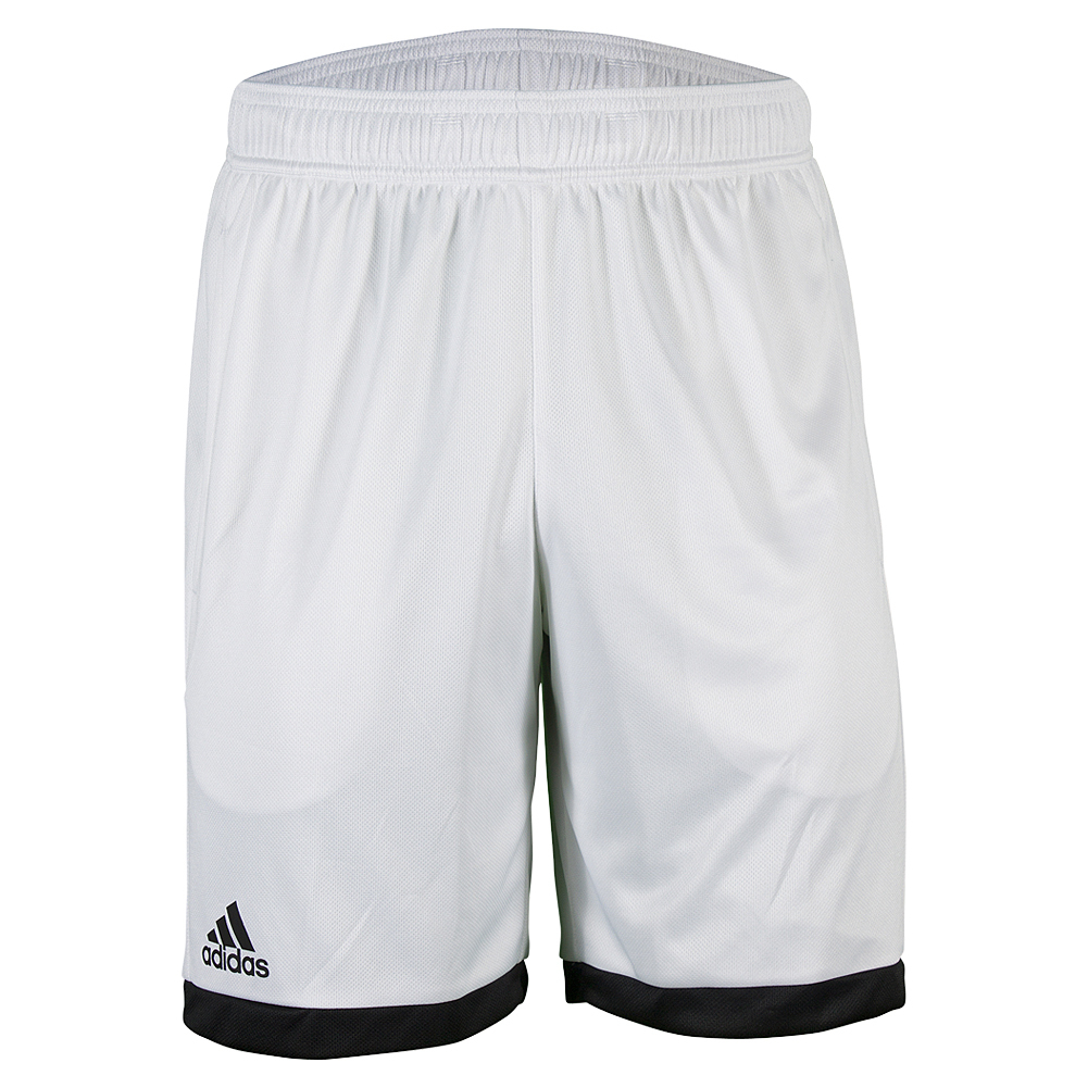 Men's Court Tennis Short White And Black