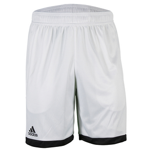 Men`s Court Tennis Short White and Black