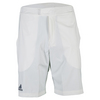 ADIDAS Men`s Barricade Bermuda Tennis Short White