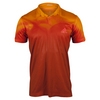 ADIDAS Men`s Adizero Tennis Polo EQT Orange and Power Red