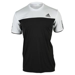 adidas MENS CLUB TENNIS TEE BLACK/WHITE