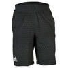 ADIDAS Men`s Club Trend Bermuda Tennis Short Black and Dark Gray