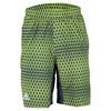 ADIDAS Men`s Club Trend Bermuda Tennis Short Shock Green and Semi Solar Slime