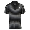 ADIDAS Men`s Club Prime Tennis Polo Black and White