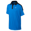 NIKE Boys` Team Court Tennis Polo Photo Blue