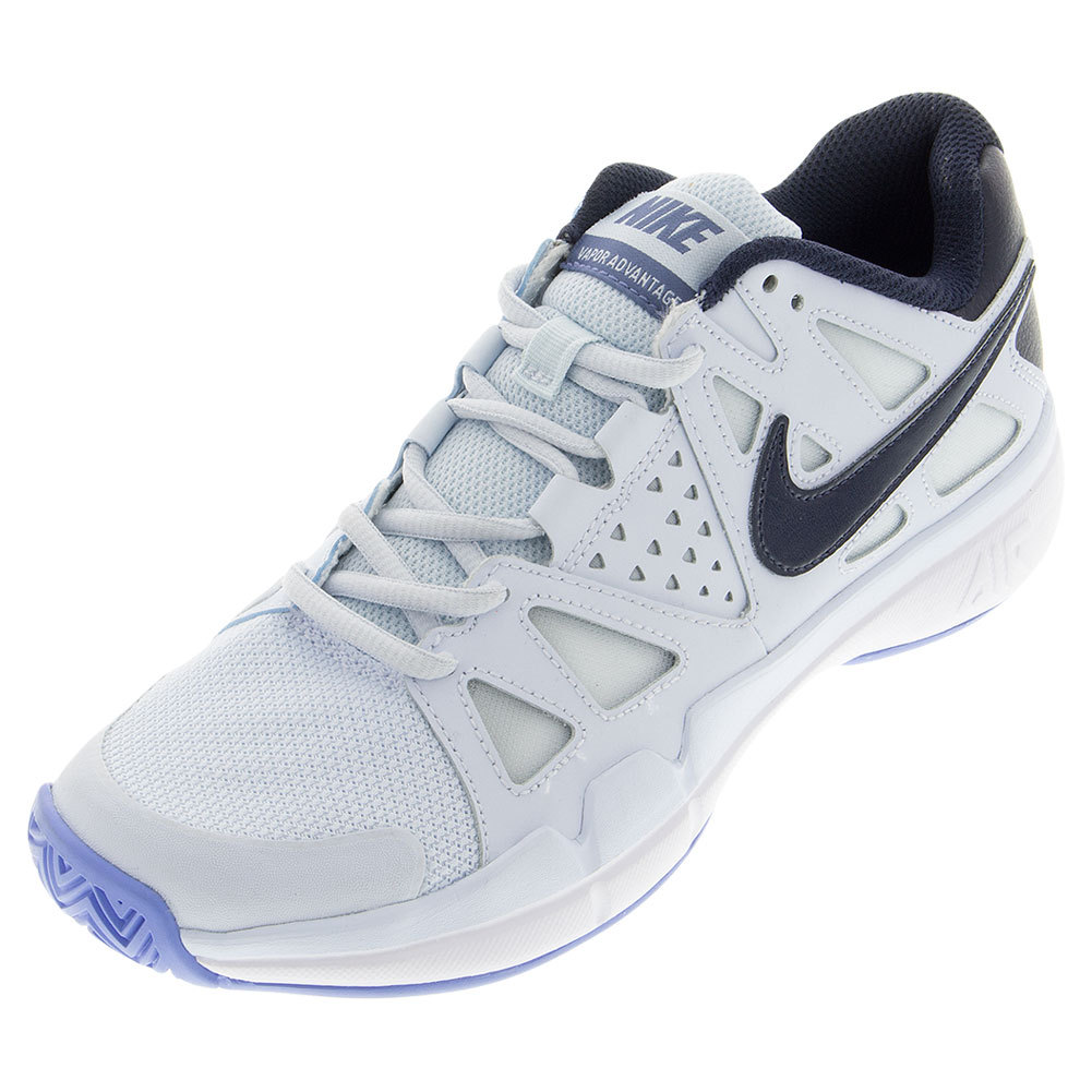 Women's Air Vapor Advantage Tennis Shoes Blue Tint And Chalk Blue