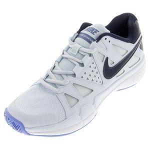 Women`s Air Vapor Advantage Tennis Shoes Blue Tint and Chalk Blue