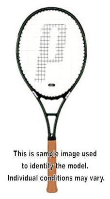 PRINCE CLASSIC GRAPHITE 100 USED RACQUET 4_1/2