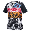 ATHLETIC DNA Boys` Graffiti Match Tennis Crew White