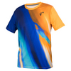 ATHLETIC DNA Boys` Blurr Match Tennis Crew Papaya