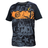 ATHLETIC DNA Men`s Graffiti Match Tennis Crew Black