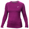 ATHLETIC DNA Women`s Match Long Sleeve Tennis Top Magenta Purple