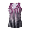 ATHLETIC DNA Women`s Dots Refresh Tennis Tank Magenta Purple