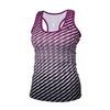 Women`s Dots Refresh Tennis Tank Magenta Purple by ATHLETIC DNA