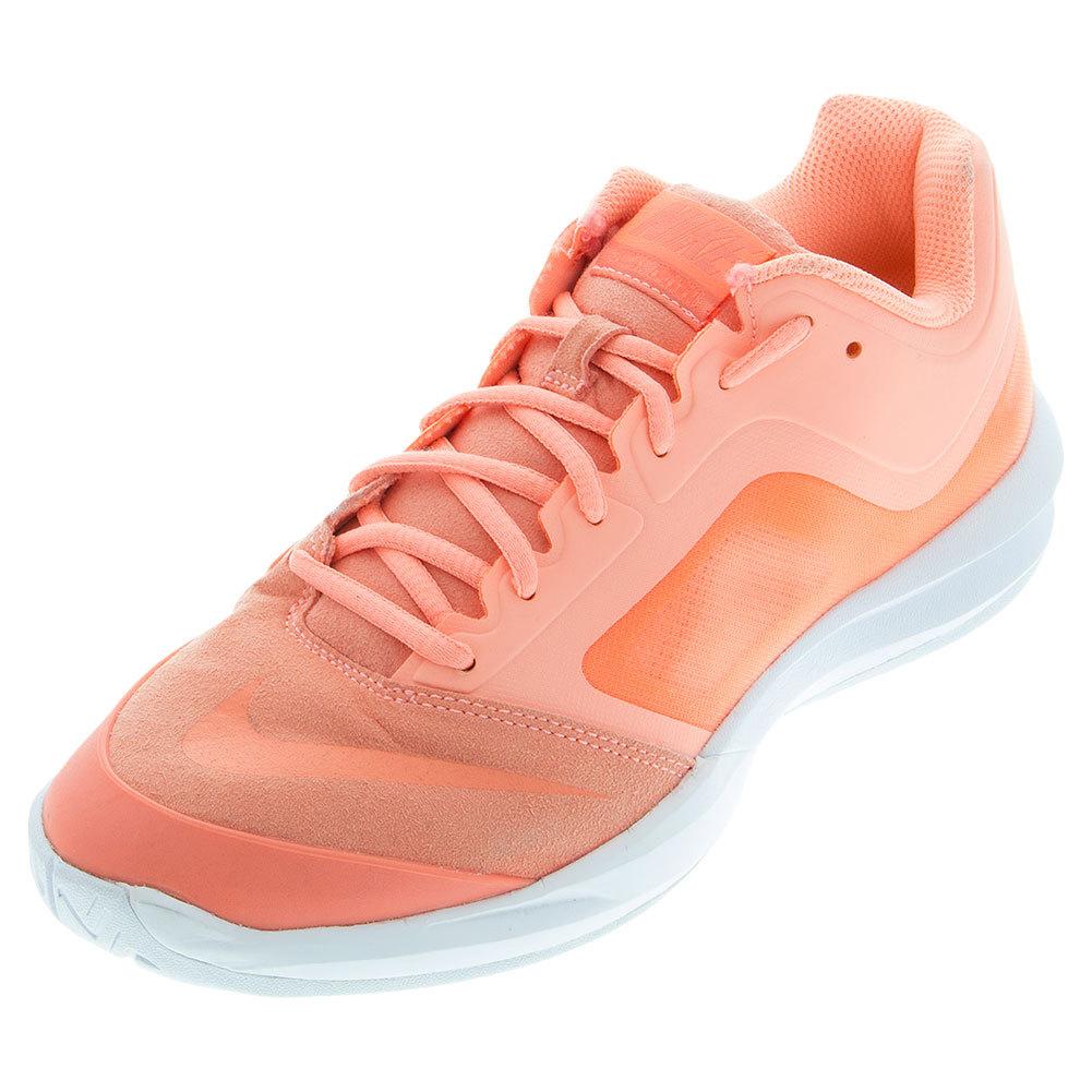 Women's Dual Fusion Ballistec Advantage Tennis Shoes Atomic Pink And White