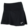 ATHLETIC DNA Women`s Tulip Wrap Tennis Skort Black