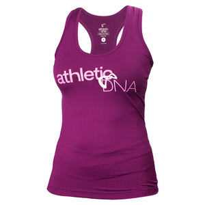 Women`s Entwine Refresh Tennis Tank Magenta Purple