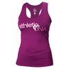 ATHLETIC DNA Women`s Entwine Refresh Tennis Tank Magenta Purple