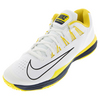 NIKE Men`s Lunar Ballistec 1.5 Tennis Shoes White and Optic Yellow