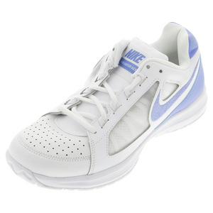 Women`s Air Vapor Ace Tennis Shoes White and Chalk Blue