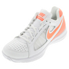 Women`s Air Vapor Ace Tennis Shoes White and Bright Mango by NIKE