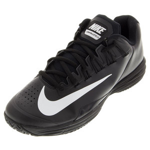 Juniors` Lunar Ballistec 1.5 Tennis Shoes Black and White