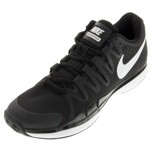 Juniors` Zoom Vapor 9.5 Tour Tennis Shoes Black and Anthracite