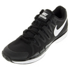 NIKE Juniors` Zoom Vapor 9.5 Tour Tennis Shoes Black and Anthracite