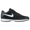 NIKE Juniors Air Vapor Advantage Tennis Shoes Black and Dark Gray