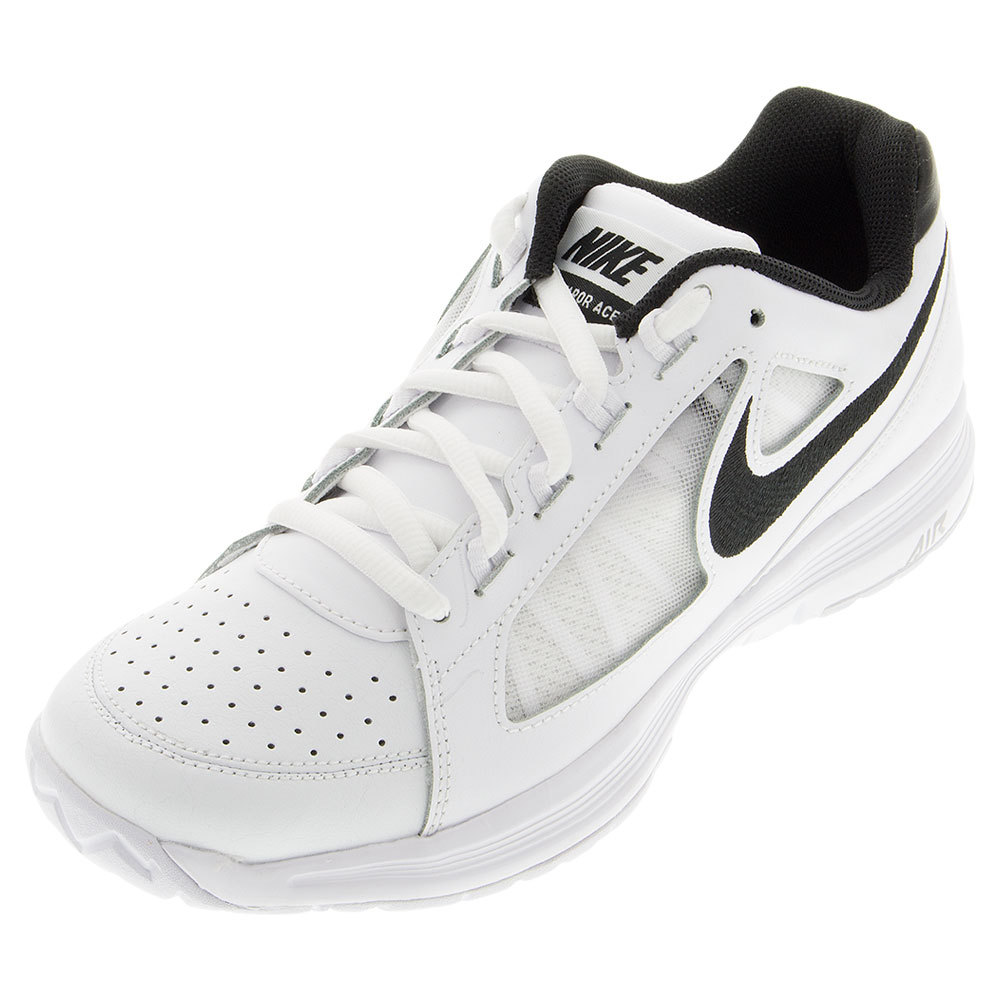 Juniors ` Air Vapor Ace Tennis Shoes White And Stealth